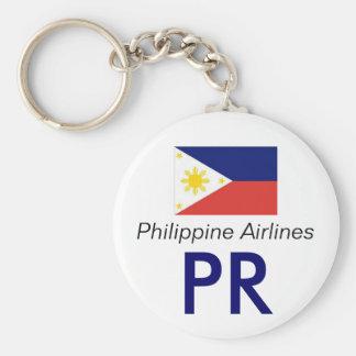 philipinesflag, PR, Philippine Airlines Keychain