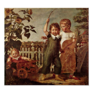 Philipp Otto Runge - The Hulsenbeck children Poster
