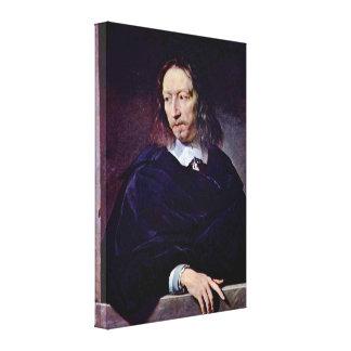 Philippe de Champaigne - Arnauld dAndilly Canvas Prints