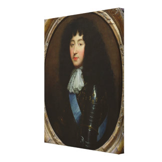 Philippe of France  Duke of Orleans Canvas Print