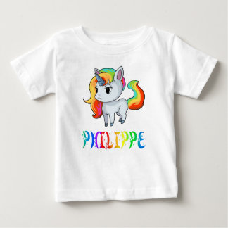 Philippe Unicorn Baby T-Shirt