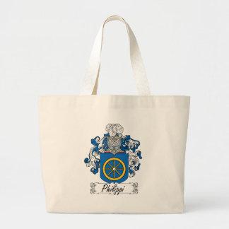 Philippi Family Crest Jumbo Tote Bag