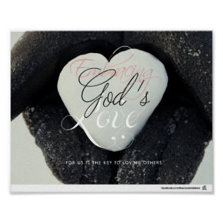 Philippians 2:4 - Embracing God's Love Poster