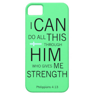 Philippians 4:13 case for the iPhone 5