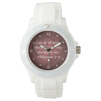 Philippians 4:13 Christian Bible Verse Watch