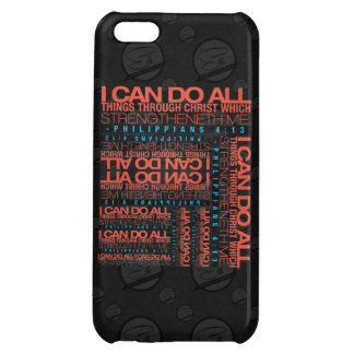 Philippians 4:13 iPhone 5 Glossy/Matte Finish Case iPhone 5C Covers