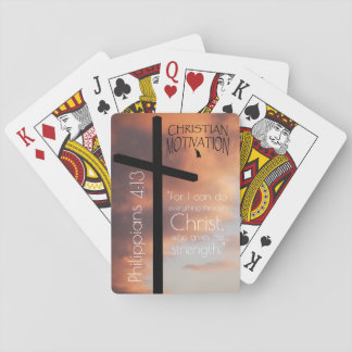 Philippians 4:13 Playing Cards