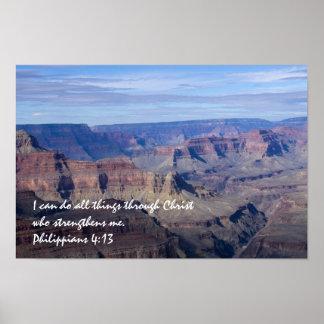 Philippians 4:13 Poster 2