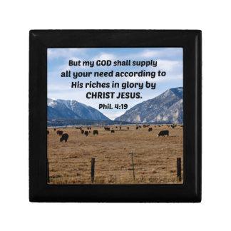 Philippians 4:19 gift box