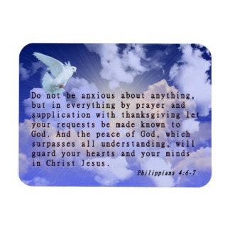 Philippians 4:6-7 magnet