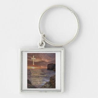 Philippians 4:6 christian gifts keychain