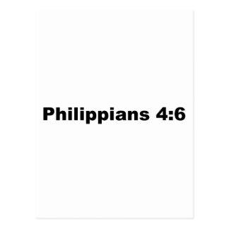 Philippians 4:6 postcard