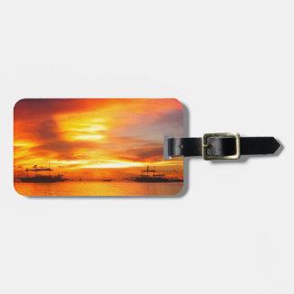 Philippians Sunset Luggage Tags