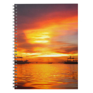 Philippians Sunset Note Book