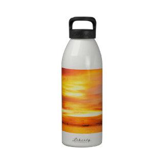 Philippians Sunset Water Bottle