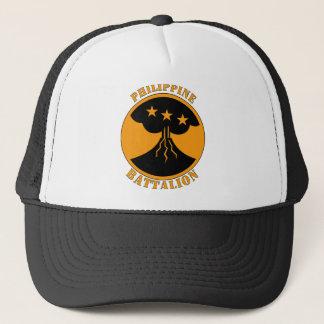 Philippine Batttalion  W/Text Trucker Hat