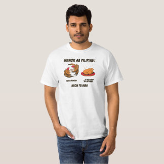Philippine chickens...in Tagalog T-Shirt