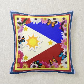 Philippine Flag – Filipino Design Pillow