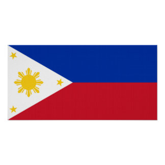 philippine flag poster