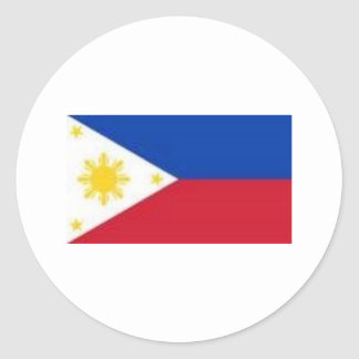 Philippine Flag Products Classic Round Sticker