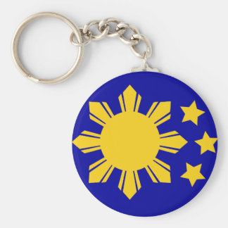 Philippine Flag - Proud to be Pinoy! Keychain