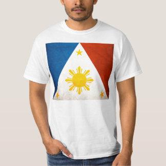 Philippine Flag Pyramid T-Shirt