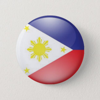 Philippine Flag (round) 2 Inch Round Button