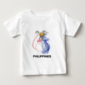 PHILIPPINE FLAG smoke Baby T-Shirt