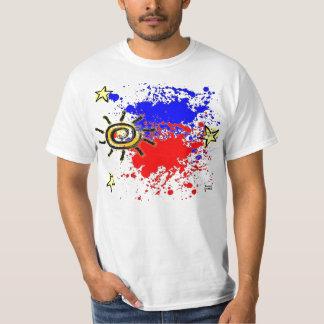 Philippine flag Splatter T-Shirt