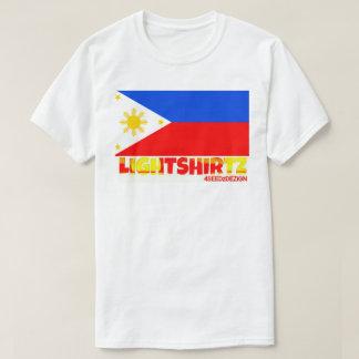 Philippine Flag T-Shirt / LiGHTSHiRTZ 4SEEDzDEZiGN