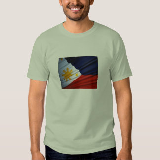 Philippine flag tee shirt