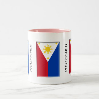 Philippine Flag - Two-Tone Mug