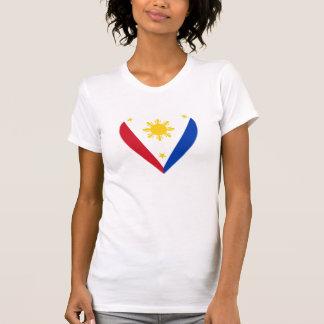 Philippine Heart Flag Tshirt