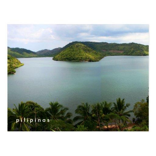 philippine island post card