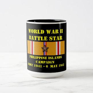 Philippine Islands Campaign Two-Tone Coffee Mug
