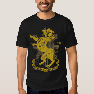Philippine Lion Sun Flag Coat of Arms Vintage T-shirts