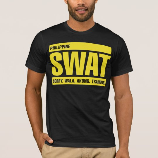 Philippine SWAT - Tagalog - Yellow T-Shirt