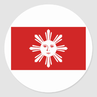 Philippines   1st official, Philippines Classic Round Sticker