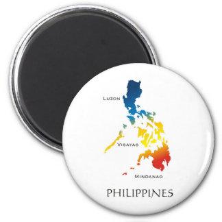 Philippines 2 Inch Round Magnet