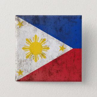 Philippines 2 Inch Square Button