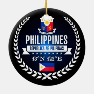 Philippines Ceramic Ornament