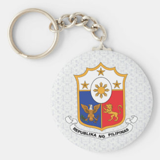 Philippines Coat of Arms detail Keychain