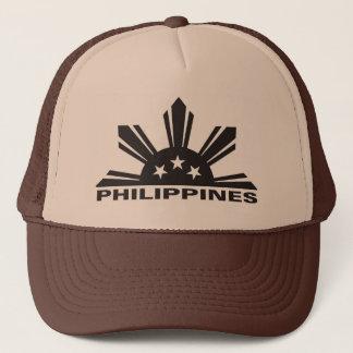 Philippines Custom Logo Trucker Hat