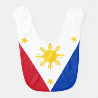 Philippines Flag Baby Bibs
