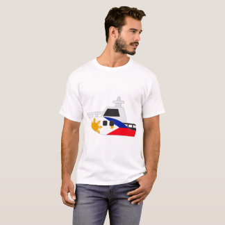 Philippines Flag Boat T-Shirt