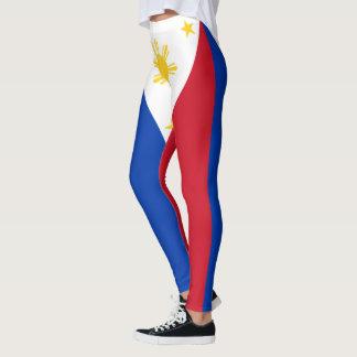 Philippines Flag Colors Leggings
