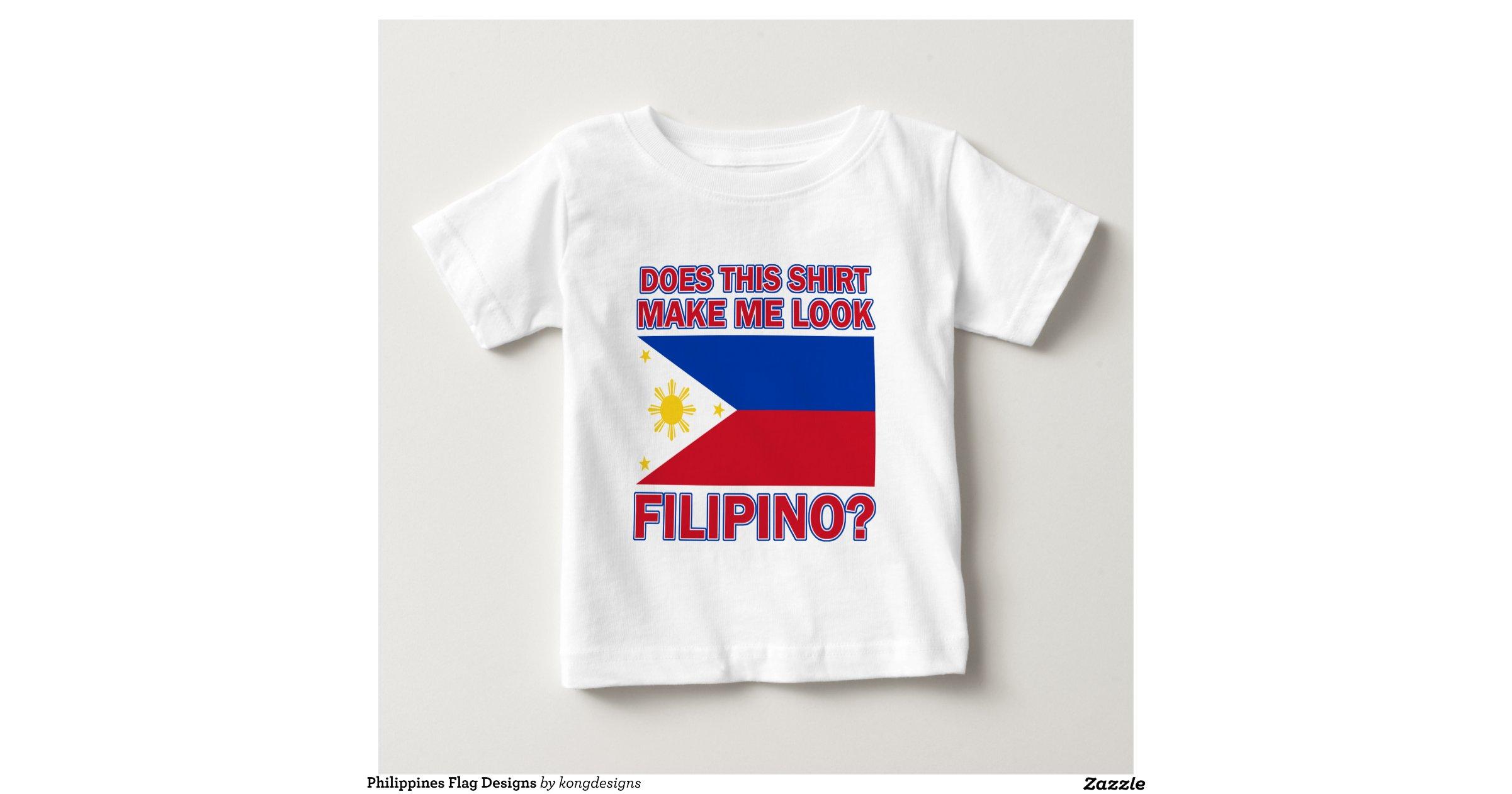 Philippines Flag Designs Shirts Zazzle