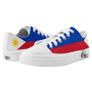 Philippines Flag Low-Top Sneakers
