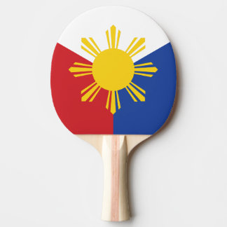 Philippines Flag Ping Pong Paddle