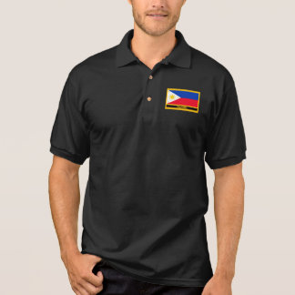 Philippines Flag Polo Shirt